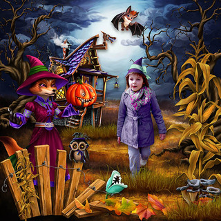 HALLOWEEN WITH THE FRIENDS OF THE FOREST - jeudi 14 octobre / thursday october 14th 21101508325819599817616715