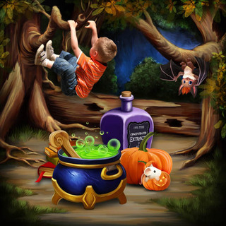 HALLOWEEN WITH THE FRIENDS OF THE FOREST - jeudi 14 octobre / thursday october 14th 21101508325919599817616717