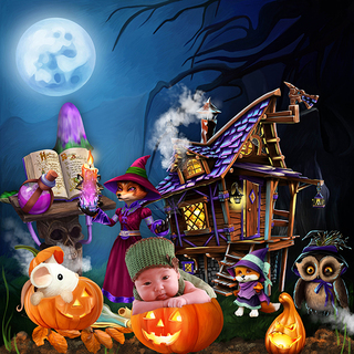 HALLOWEEN WITH THE FRIENDS OF THE FOREST - jeudi 14 octobre / thursday october 14th 21101508330519599817616718