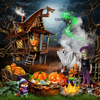 HALLOWEEN WITH THE FRIENDS OF THE FOREST - jeudi 14 octobre / thursday october 14th 21101508330819599817616720