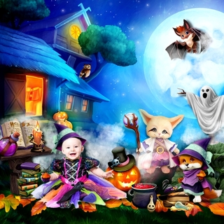 HALLOWEEN WITH THE FRIENDS OF THE FOREST - jeudi 14 octobre / thursday october 14th 21101508331219599817616722