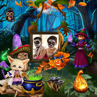 HALLOWEEN WITH THE FRIENDS OF THE FOREST - jeudi 14 octobre / thursday october 14th 21101508332519599817616725